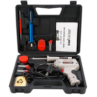 220V 100W Electrical Soldering Iron Gun Hand Welding Tool With Solder Wire Soldering Gun With Lights