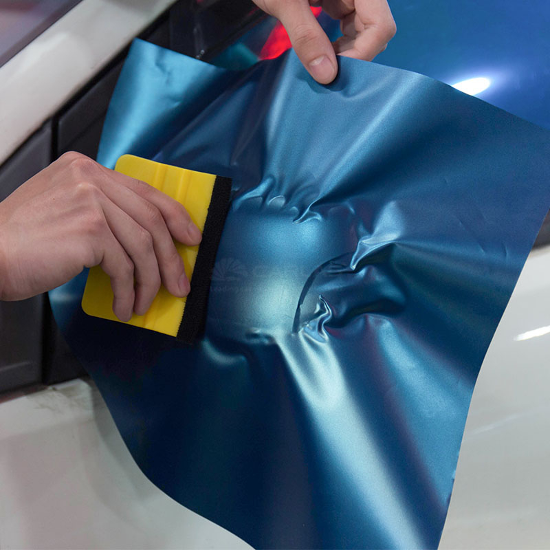 Vinyl Squeegee Car Foil Film Wrapping Suede Felt Scraper Window Tint Tools Auto Household Car Styling Sticker Free Shipping