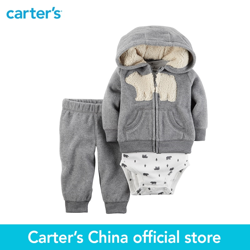 Carter's 3pcs baby children kids 3-Piece Little Jacket Set 121H507,sold by Carter's China official store