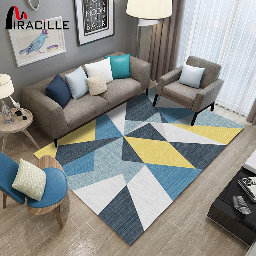 Madrid Taupe Beige Ultra Modern Living Room Furniture 3: Miracille Large Size Carpets For Modern Living Room Soft