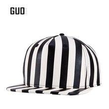 Original quality Cotton Baseball Cap Adjustable Piano keyboard color hip hop hats Zebra pattern +Breathable Black and white para