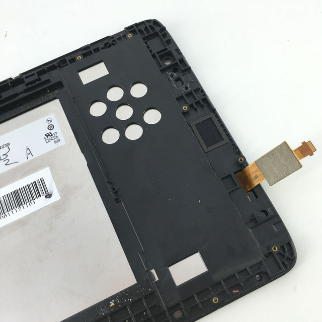 used LCD Display Monitor Touch Screen Digitizer Glass Assembly with frame For Lenovo IdeaTab A8-50 A5500 A5500F A5500H A5500-HV