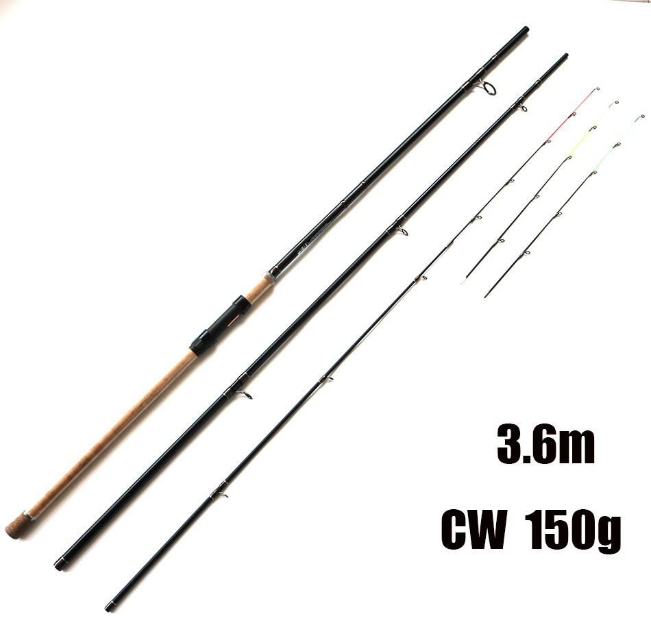 ФОТО Free Shipping 3.6m CW 150g SPECILAND Feeder Fishing Rod High Carbon Fiber Feeder Rods