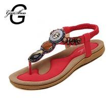 Woman 2017 New Summer Flat Sandals Ladies Summer Bohemia Beach Flip Flops Shoes Women Shoes Sandles Zapatos Mujer Sandalias