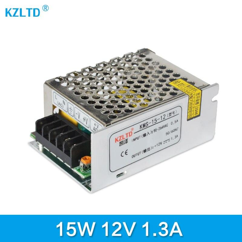 AC-DC Switching Power Supply 12V 15W 220V 110V to 12V DC Adapter for LED Display LED String LED Sign High Efficiency Mini Size