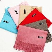 Luxury Brand Scarf Pashmina Letter Cashmere Scarf Twill Wrap Shawl Winter Scarf Women S Scarves