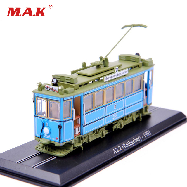 1:87 Train Model Collection Gift for Children 1/87 Scale Model Train A2.2(rathgeber)-1901 Tram Diecast Train Model