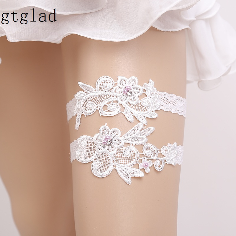 What Is A Garter At A Wedding: Gtglad NEW Sexy Hot Bride Wedding Garter Lace White Prom