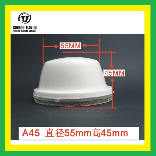 TJ Wholesale A45 Silicone Rubber Pad Round Shape(Size:Diameter55*High45MM)