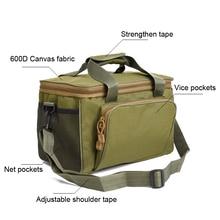 Newboler Fishing Tackle Bags Waterproof Fishing Lure Bag 37*25*25cm Oxford Multi-function Fishing Reel Bag bolsa de la pesca