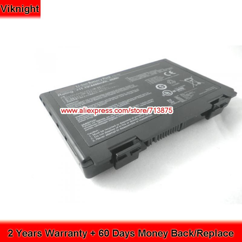 Genuine New A32-F82 A32-F52 Battery For ASUS K50ij K40IN K40IJ A32 F82 k50 K51 K40 K42 k60 K60I k61 k70 X8 Series 10.8V 6 Cells