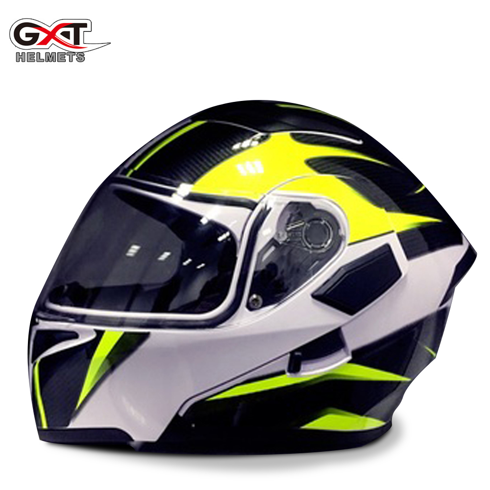 GXT Motocross Helmet Full face moto Racing Motorbike Helmets Female Men Motorcycle downhill Double Visors Bluetooth Able no2 free shipping bluetooth helmet for phone motorcycle helmet roadcross double visors racing helmets with sunny lens s m l xll