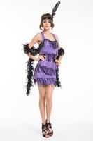 red Flapper Ladies 20s Fancy Dress Womens 1920s Great Gatsby Adults Costume S M L XL 2XL halloween costumes for women dress