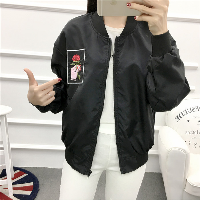 HTB1j52LPVXXXXamXXXXq6xXFXXXr - Rose Embroidery Women's Jackets PTC 53