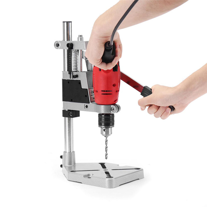 Electric Drill Holder 400mm Drilling Stand Grinder Rack Stand Clamp Bench Press Stand For Holding Electric Drill DIY WoodworkElectric Drill Holder 400mm Drilling Stand Grinder Rack Stand Clamp Bench Press Stand For Holding Electric Drill DIY Woodwork