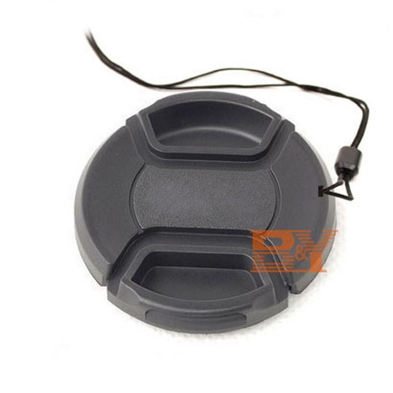 58 мм центр - кнопк-передняя центр-пинча - крышка объектива для канона 58 мм фильтры