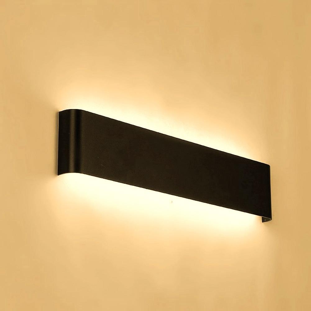 2017 in alluminio moderna lampada da parete a led bagno specchio frontale corridoio corridoio luce per