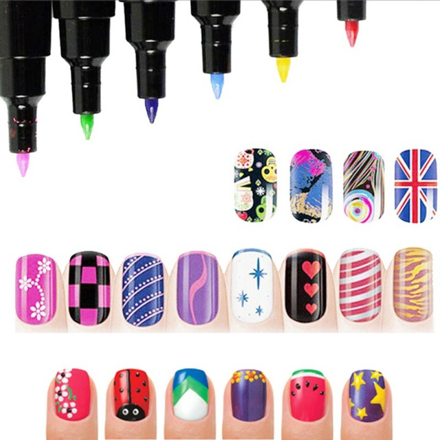 2017 Diy Nail Polish Pen Nail Art Pen For 3d Nail Art Diy Decoration