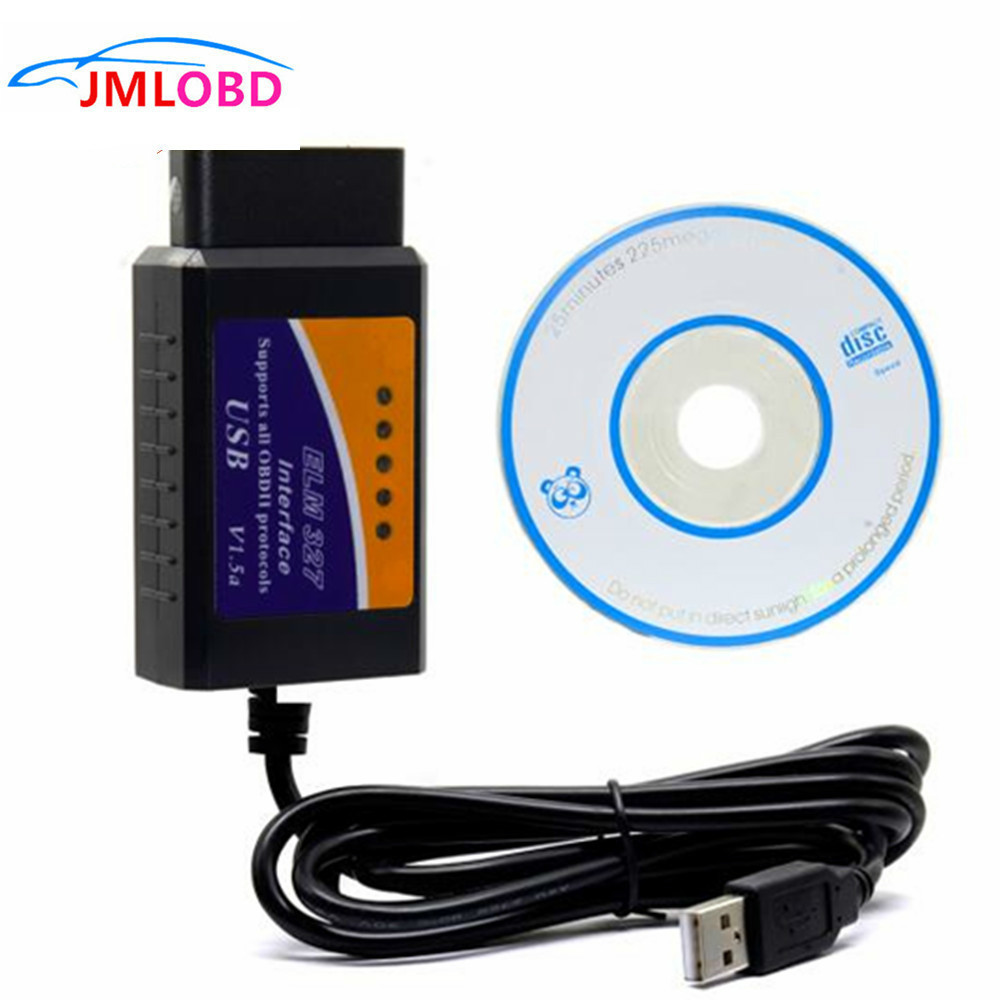 ELM327 v1.5 USB Interface OBD2 Auto Car Scanner Adapter For Hyundai Tuscani FX