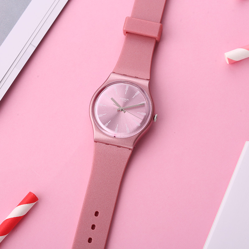 Swatch watch classic color code series fresh rose quartz men and women watch GP154 swatch watch quartz men s watch pnz100