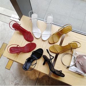 Image 4 - Delivery to logistics within 3 days  meifeini2019 summer new womens high heel sandals sexy