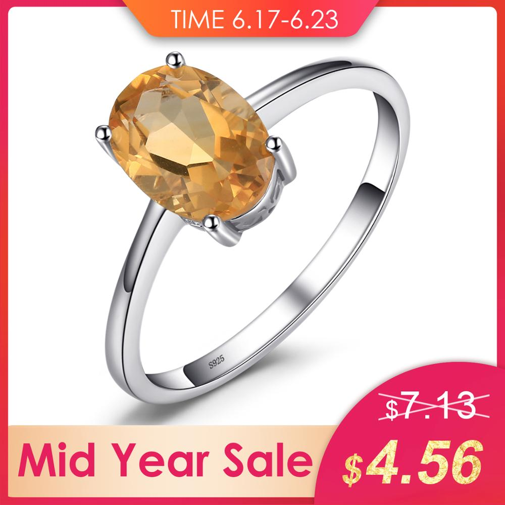 JewelryPalace Oval 1.1ct Natural Citrine Birthstone Solitaire Ring 925 Sterling Silver Engagement Rings Women Gemstone JewelryJewelryPalace Oval 1.1ct Natural Citrine Birthstone Solitaire Ring 925 Sterling Silver Engagement Rings Women Gemstone Jewelry