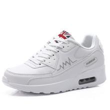 Running Shoes Flat Trend Sports Ventilation Woman Korean Air Cushion Women Single Vogue Sneaker