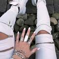 Mulheres Lápis Calças Skinny Zipper Escavar Estiramento Calças 2016 Moda Casual Magro Verão Feminino Calças (NÃO PU, NÃO Jeans)