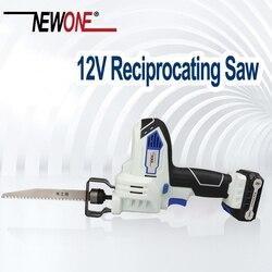 12V mutifunctional Portátil Carregamento Alternativo Serra Elétrica Serra Sabre para madeira ferramentas de poder com bateria de lítio