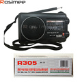 100% Original TECSUN R-305 High Quality FM Radio Speaker MW / SW Portable Radio Transmitter For Elderly Pocket Radio Full Band
