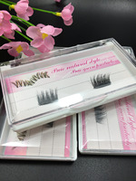 20pairs Magnetic eyelash extensions magnet False Fake Eyelashes Easy To Wear false Eyelashes Makeup handmade top quality