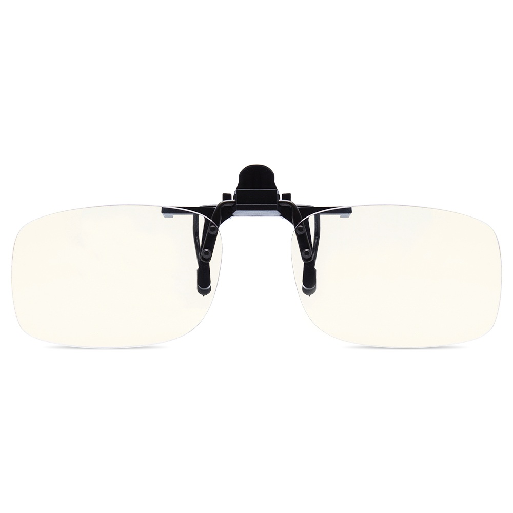 EYEGUARD Clip on Lens Anti & Block Blue Light Filter Cover Glasses Protect Eyes from Fatigue Unisex