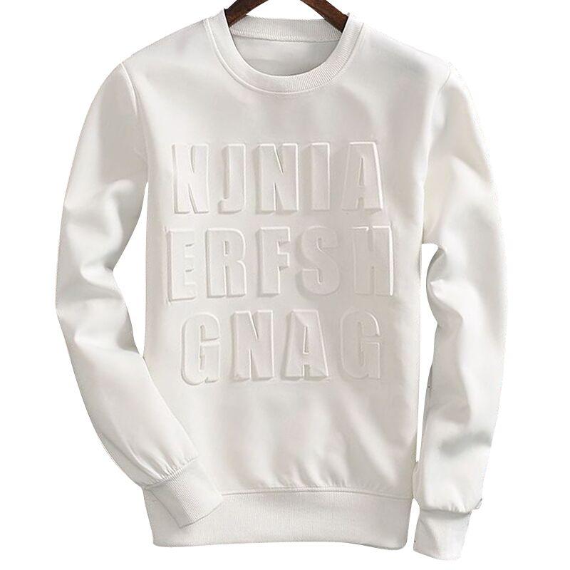 Aliexpress Com Buy Korean Style Men Casual O Neck T Shirts Plus