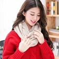 Hot Sale 5 Colors Collar Knitted Scarf Shawl Ring Soft Warm Winter Scarf Womens Scarfs Fashionable Foulard Femme Neck Warmer