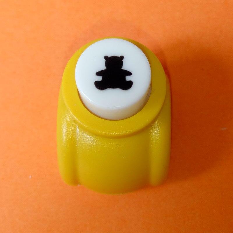 1 шт./лот, мини-дырокол для рукоделия, для скрапбукинга, Дырокол ручной работы, дырокол для рукоделия, подарочная карта, бумажный дырокол, CL-1203 - Цвет: bear