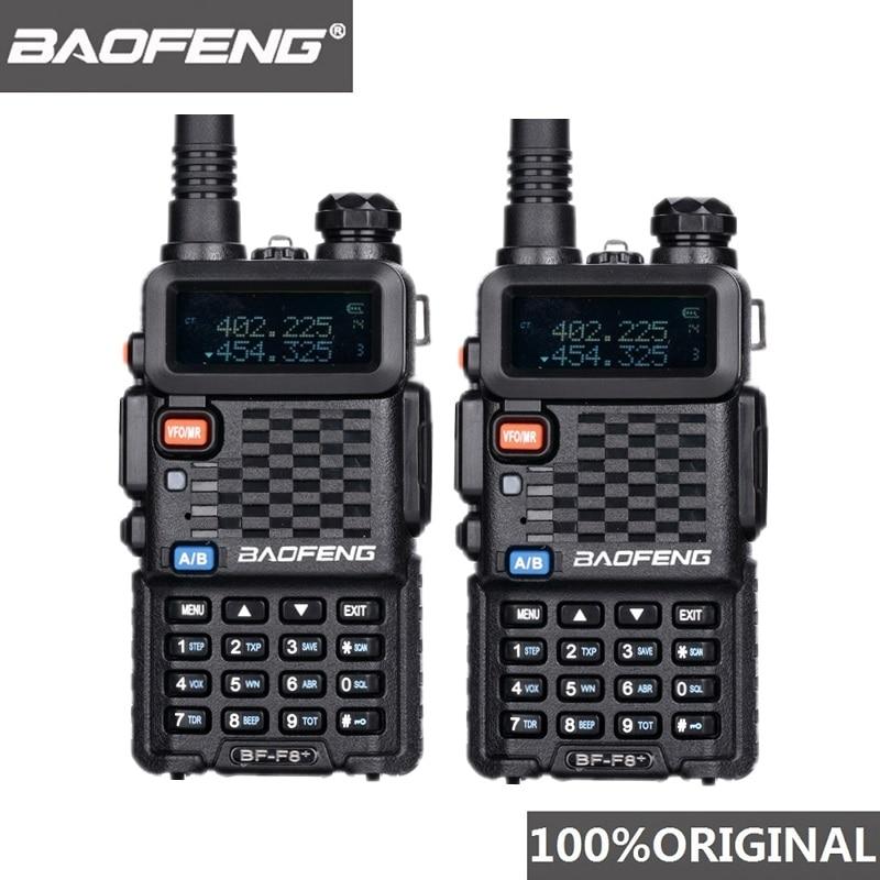 2PCS Original BaoFeng F8 Long Distance Woki Toki Police Talkie Walkie 5km Range Two Way Radio