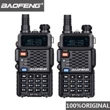 2 adet orijinal BaoFeng F8 + uzun mesafe Woki Toki polis Talkie telsiz 5km aralığı iki yönlü telsiz telsiz amatör radyo HF alıcı