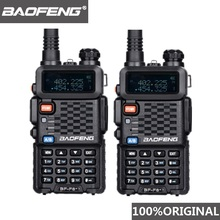 2 pièces dorigine BaoFeng F8 + longue Distance Woki Toki Police talkie walkie 5km portée Radio bidirectionnelle Walky Talky jambon Radio HF récepteur
