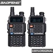 2pcs original baofeng f8 + de longa distância woki toki polícia talkie walkie 5km alcance rádio em dois sentidos walky falante rádio receptor hf