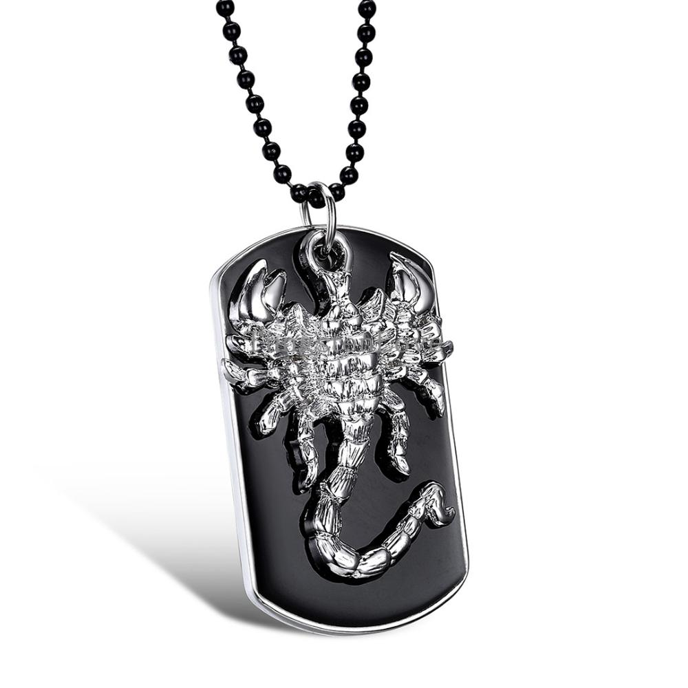 Men S Stainless Steel Pisces Zodiac Dog Tag Pendant: Popular Scorpio Gifts-Buy Cheap Scorpio Gifts Lots From
