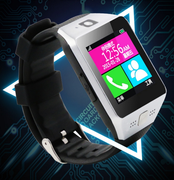 Bluetooth Smart phone Watch Clock font b Smartwatch b font Sim Phone Wrist Mate SIM Card