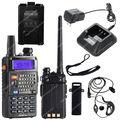 BAOFENG UV-5RE Além DISSO UV5RE + VHF/UHF de Banda Dupla 5 W 128CH FM VOX Rádio Em Dois Sentidos LB0516