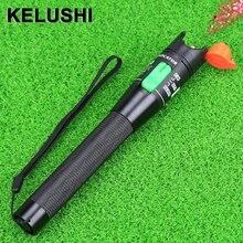 KELUSHI 30MW Luz Laser Vermelho Localizador Visual da Falha da Fibra Óptica Cable Tester 30Km Faixa de material metálico