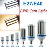 Bombilla LED tipo mazorca lámpara de alto montaje de campana, blanco cálido/frío, 35W, 45W, 55W, 65W, 80W, 100W, 120W, SMD5730 AC85-265V, E27, E40