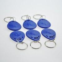 100pcs/lot 13.56MHz Abs Plastic Rfid Key Tag Cheap Small Rfid Tags