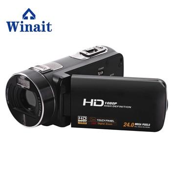 Free Ship Full HD 1080P Digital Camcorder Professional Max 24 MP 3.0''  Touch Screen Mini DV Video Camera With 16x Digital Zoom