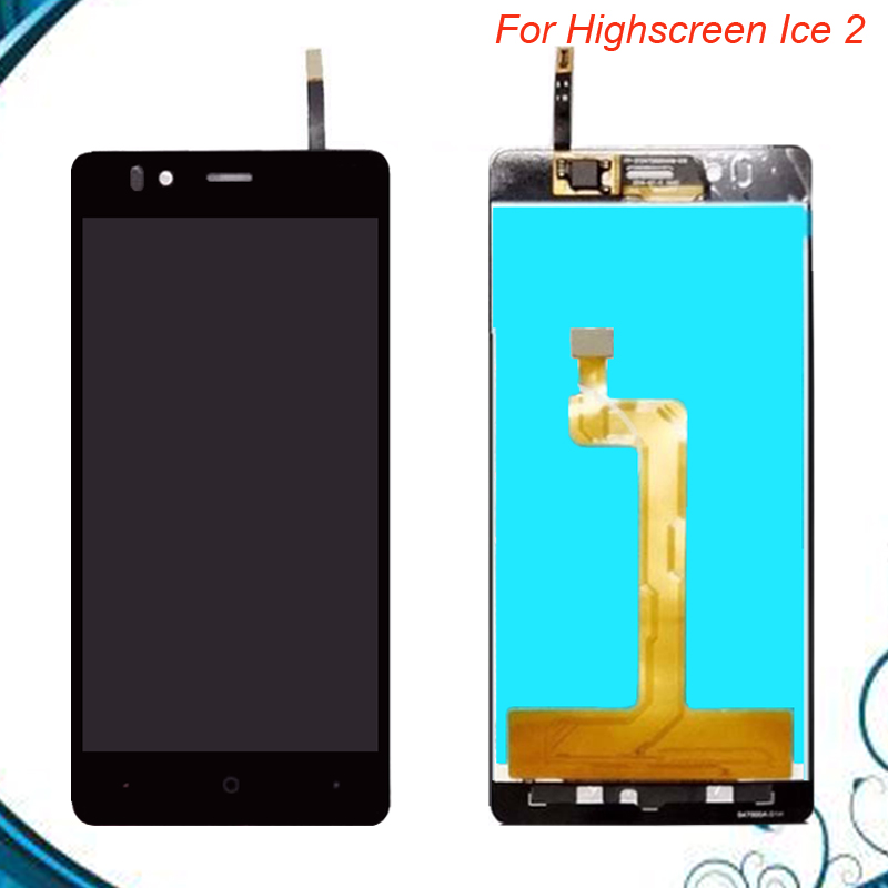 100% Working Well High Quality 4.7Inch For Highscreen ice 2 ice2 LCD Display Screen+Touch Screen Digitizer Assembly