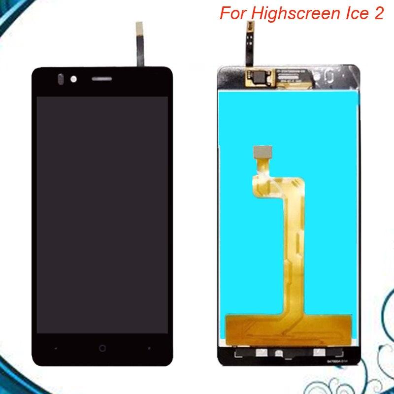 100% arbeiten Gut Hohe Qualität 4,7 Zoll Für Highscreen ice 2 ice2 LCD Display + Touchscreen Digitizer Montage