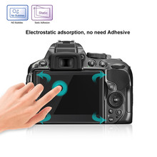 Прозрачная защитная пленка для экрана из закаленного стекла 9H для Nikon D5300 D5500 D5600 HD прозрачная пленка для камеры Y10