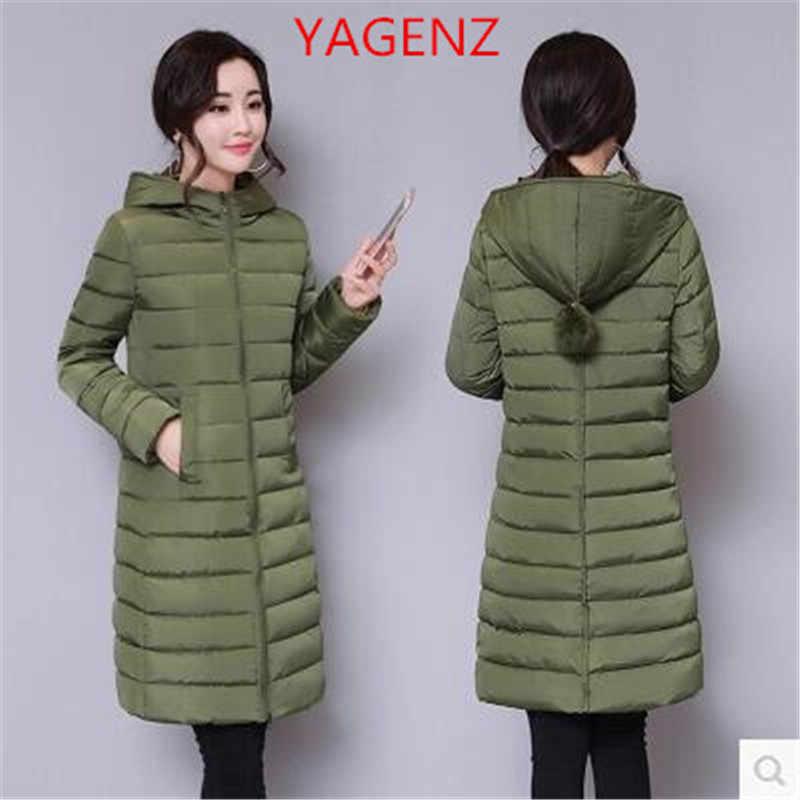 Большой размер Для женщин зимняя куртка пальто NEW100 %-го стеганного пуха зимнее пальто из хлопка, высокое качество, цвета: черный, теплое пальто Гарантия качества K2380